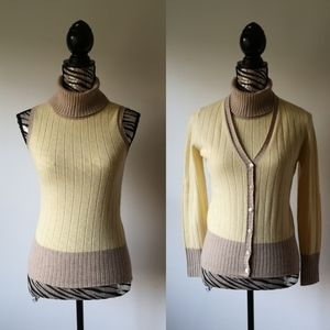 ESCADA cashmere and wool sweater set